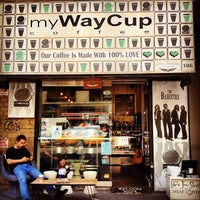 Photo taken at MyWayCup Coffee by Alexandria N. on 5/31/2013