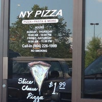 Photo taken at NY Pizza by Mo C. on 6/14/2014