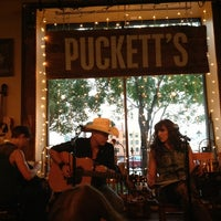 Photo taken at Puckett's Grocery & Restaurant by Mo C. on 8/29/2013