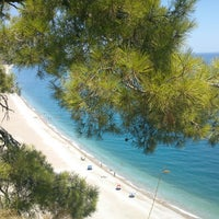 Photo taken at Olympos Plajı by Bekir on 7/29/2013