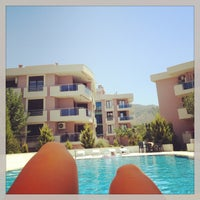 Photo taken at Oba Prestij Pool by Mine E. on 7/30/2013