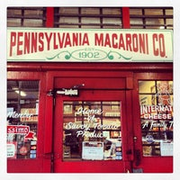 Photo taken at Pennsylvania Macaroni Company by @The Food Tasters on 3/16/2013