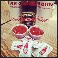 Photo taken at Five Guys by @The Food Tasters on 10/26/2013