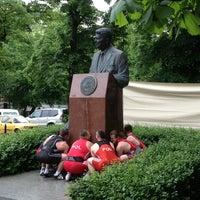 Photo taken at Pomnik Ronalda Regana by Sławomir S. on 5/27/2013