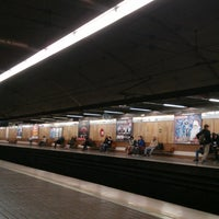 Photo taken at Metrovalencia Pl. Espanya by Rubén G. on 12/5/2014