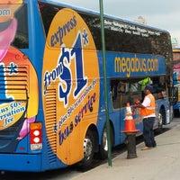 Photo taken at Megabus Terminal - W 34th St & 11 Av by Luis M. C. on 5/9/2013
