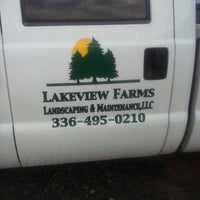 Photo taken at Lakeview Farms Landscaping & Maintenance LLC by Tami . on 3/20/2014