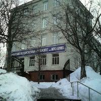 Photo taken at Камчатский Государственный Университет (главный корпус) by Олег П. on 1/29/2013