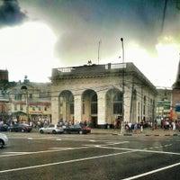 Снимок сделан в Таганская площадь пользователем Anton P. 5/20/2013