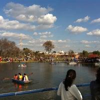 Photo taken at Parque Recreativo El Ameyal by Azael T. on 1/1/2014