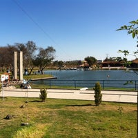 Photo taken at Parque Recreativo El Ameyal by Azael T. on 12/7/2013