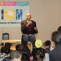 Photo taken at Children's Museum of Manhattan (CMOM) by NYCHA on 2/17/2012