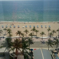 Photo taken at Courtyard Fort Lauderdale Beach by Rose C. on 7/9/2012