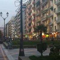 Photo taken at Navarinou Square by Eftychia . on 4/11/2012
