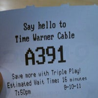 Photo taken at Time Warner Cable Store by Brian K. on 8/11/2011