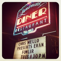 Photo taken at Landmark Diner by Erin Q. on 2/1/2012