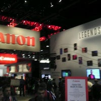 Photo taken at Canon CES Booth #13304 by Quy T. on 1/12/2012