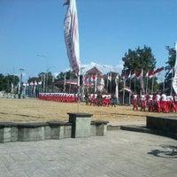 Photo taken at Alun-Alun Cilacap by Nugroho S. on 8/15/2012
