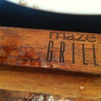 Photo taken at Maze Grill by Alex C. on 6/11/2011