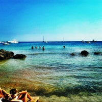 Photo taken at Fun Beach Club by Ozan T. on 7/20/2012