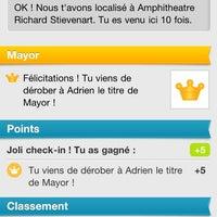 Photo taken at Amphitéâtre Polytechnique de Mons by Francois-xavier D. on 6/14/2012