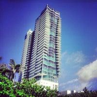 Photo taken at The Setai Miami Beach by Luis G. on 6/2/2012