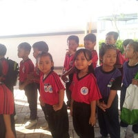 Photo taken at Sekolah Kebangsaan Medini by A d e q @ f. on 5/7/2014