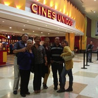 Photo taken at Cines Unidos by Grace M R. on 3/18/2013