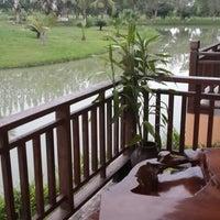Photo taken at The Grand Jamjuree Resort Lamphun by Gybzy G. on 7/23/2013