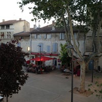 Photo taken at Hotel Le Belvedere Arles by Nata on 5/6/2013
