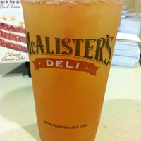Photo taken at McAlister's Deli by Tiffany on 4/15/2013