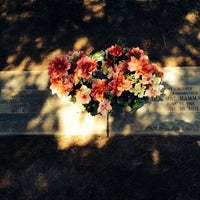 Photo taken at Clovis Cemetary by Leon H. on 6/6/2014