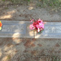 Photo taken at Clovis Cemetary by Leon H. on 9/18/2013
