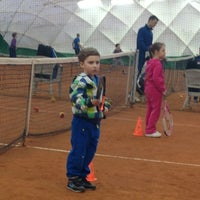 Photo taken at Lawn Tennis Club by Olechka L. on 3/12/2014