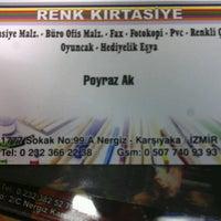 Photo taken at renk kirtasiye by Poyraz K. on 2/13/2013