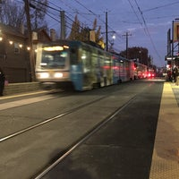 Photo taken at SACRT Light Rail 16th St Station by William L. on 12/1/2017