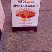 Photo taken at Spice End : Kati Roll and Platter by Mazhar S. on 9/23/2013
