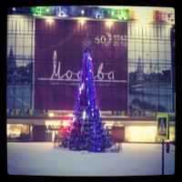 Photo taken at Универмаг «Москва» by Tatiana L. on 1/18/2013