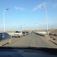 Photo taken at Большой Мост Через Р. Тобол by Yana on 4/28/2013