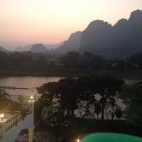 Photo taken at Vansana Hotel by Butsawan M. on 10/9/2013