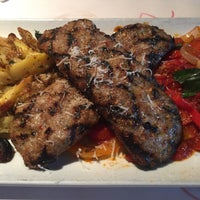 Photo taken at Romano's Macaroni Grill by Greg  B. on 4/25/2015