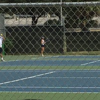 Photo taken at McFarlin Tennis Center by Greg  B. on 9/24/2016