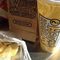 2/2/2013에 Bridget R.님이 Which Wich? Superior Sandwiches에서 찍은 사진