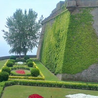 Photo taken at Castillo de Montjuic by Anna S. on 7/3/2013
