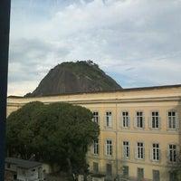 Photo taken at Universidade Federal do Estado do Rio de Janeiro (UNIRIO) by Ana Carolina O. on 1/17/2013