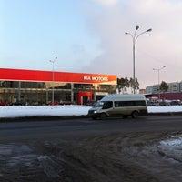 Photo taken at KIA уникум плюс by Nikolai K. on 3/28/2013