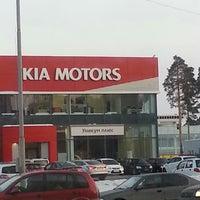 Photo taken at KIA уникум плюс by Nikolai K. on 2/22/2013