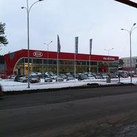 Photo taken at KIA уникум плюс by Nikolai K. on 3/25/2013
