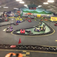 Photo taken at The Funplex by Joi P. on 12/16/2012