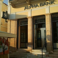 Photo taken at Alpha Bank by Mikhail M. on 10/11/2012